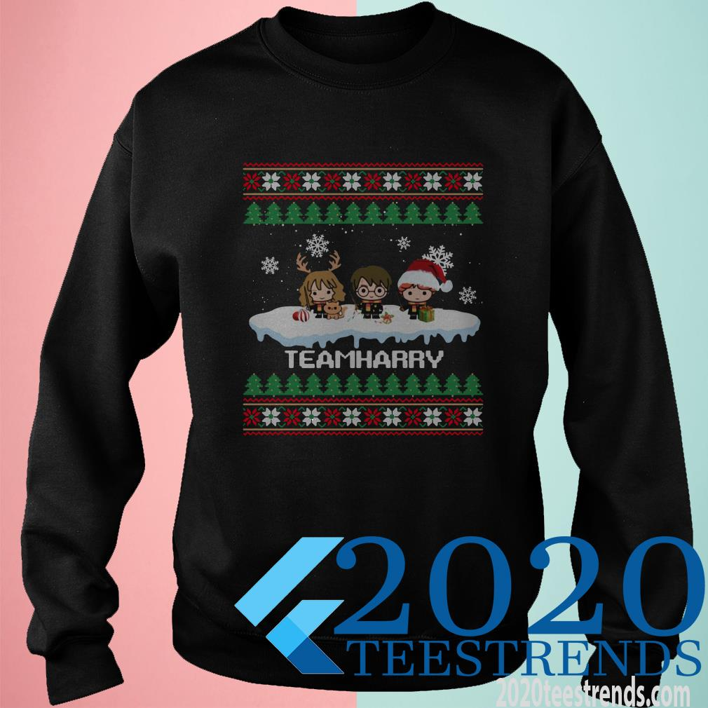 Teamharry Harry Potter Character Christmas Sweater