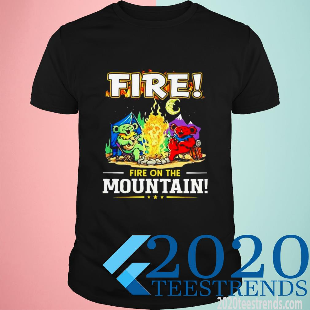 Official Fire On The Mountain Camping Shirt