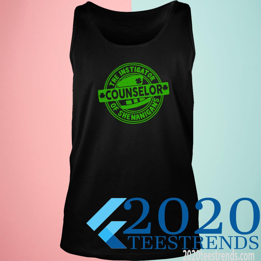 The Instigator Counselor Of Shenanigans Tanktop