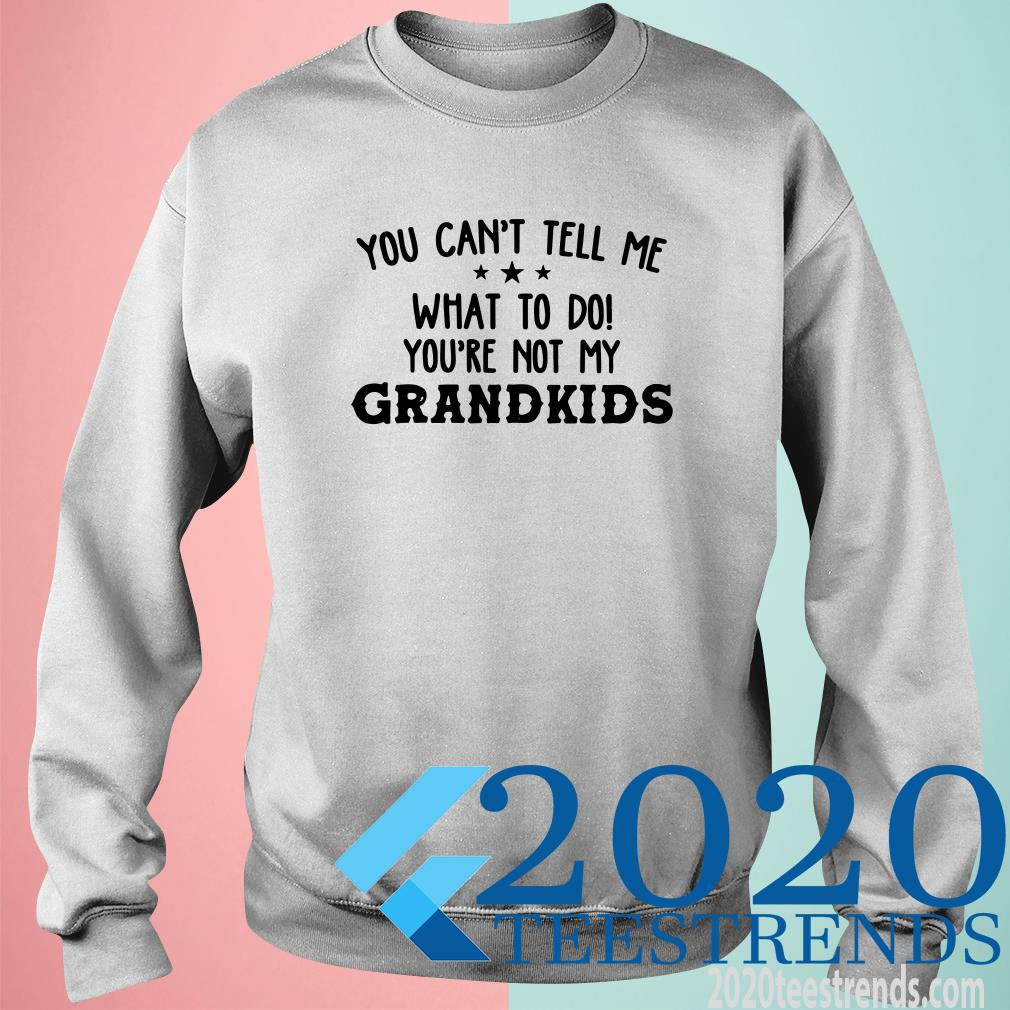 You Can't Tell Me What To Do You're Not My Grandkids Sweater