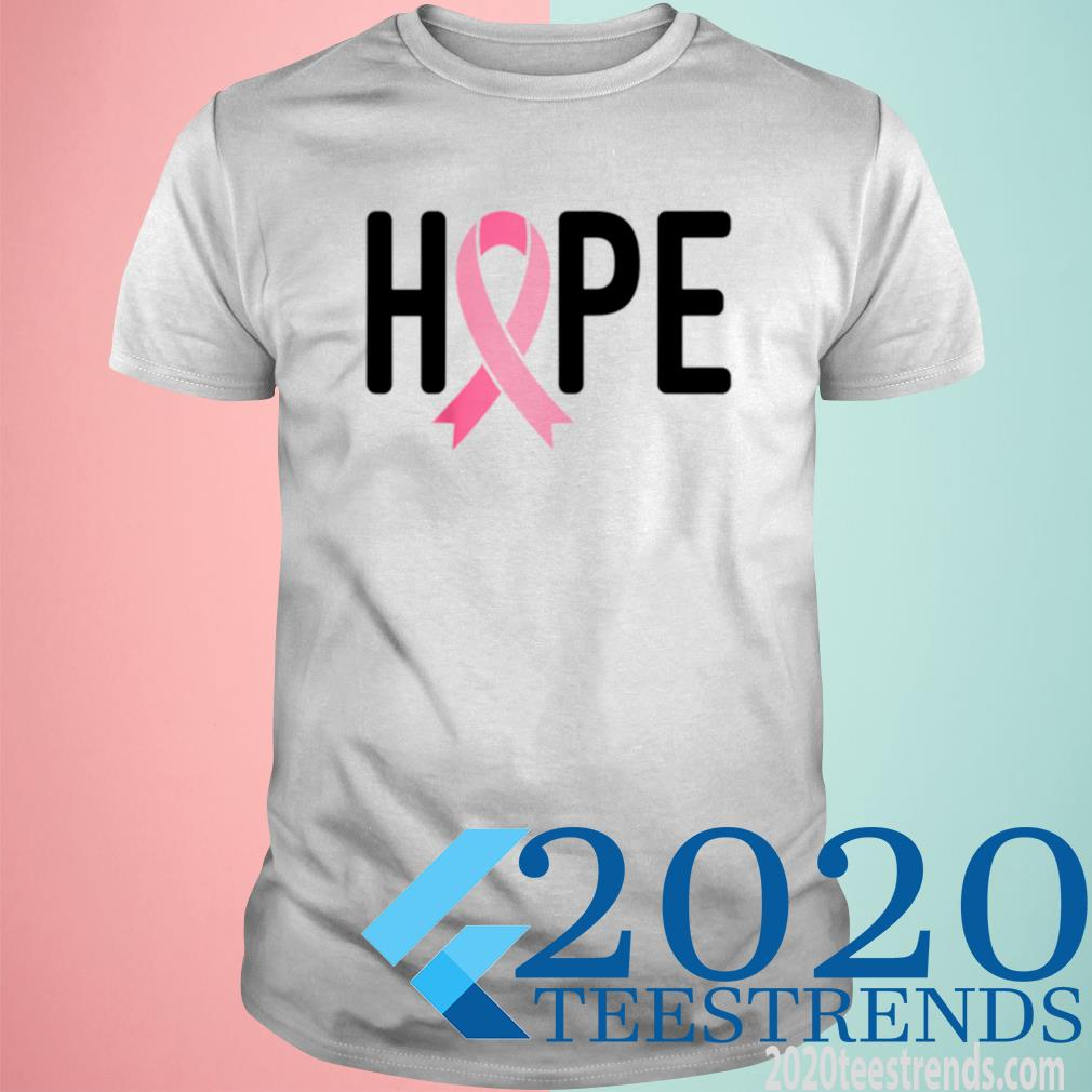 Breast Cancer Fighter Survivor Hope Pink Ribbon Warrior Shirt