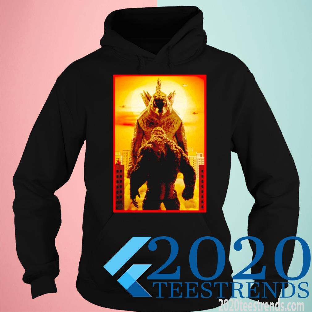 Godzilla Vs Kong Face To Face Shirt hoodie