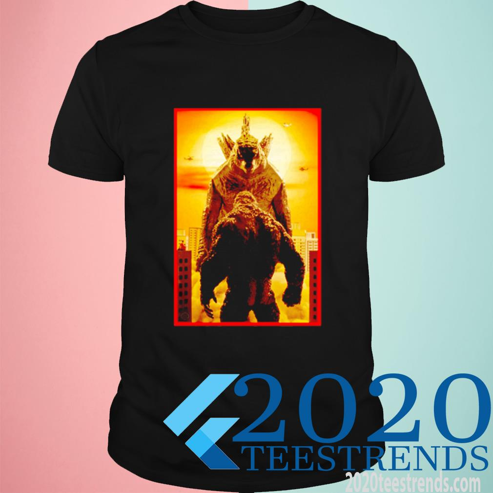 Godzilla Vs Kong Face To Face Shirt