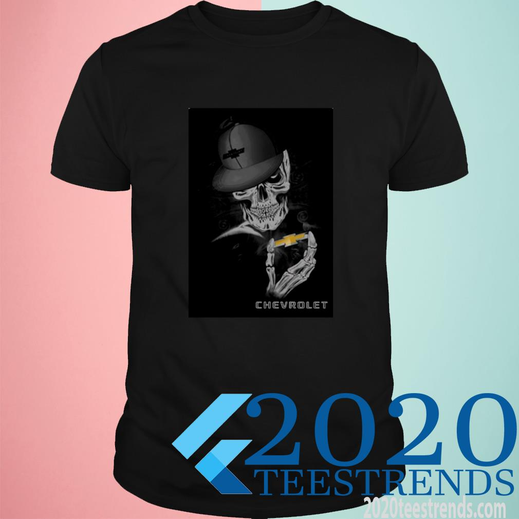 Great Chevrolet Skeleton Shirt