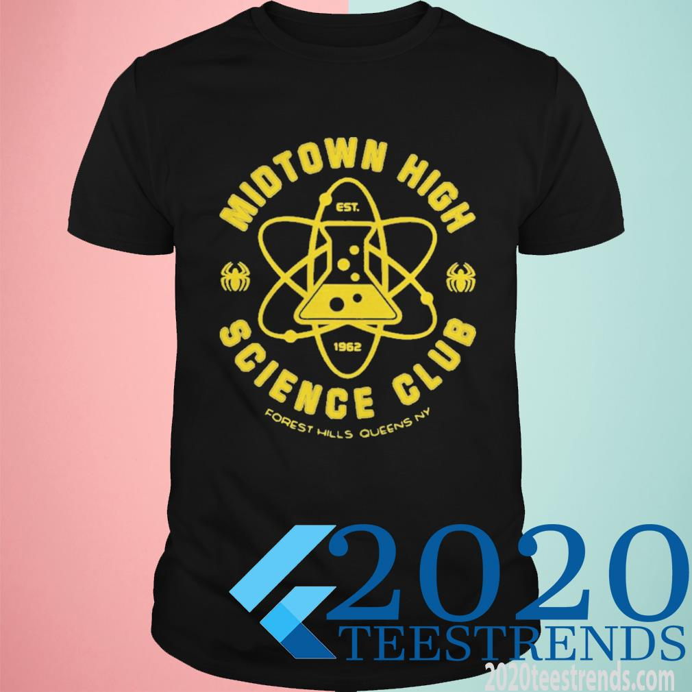 Midtown High Science Club Est 1962 Forest Hills Queens Ny Funny Shirt