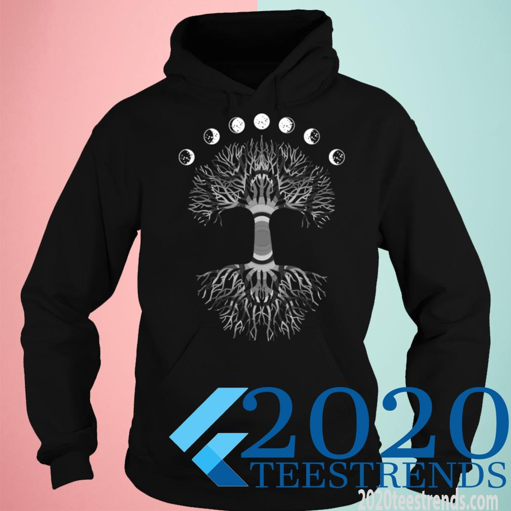 Phases Of The Moon Funny Tree Of Life Cottagecore Gift Shirt hoodie