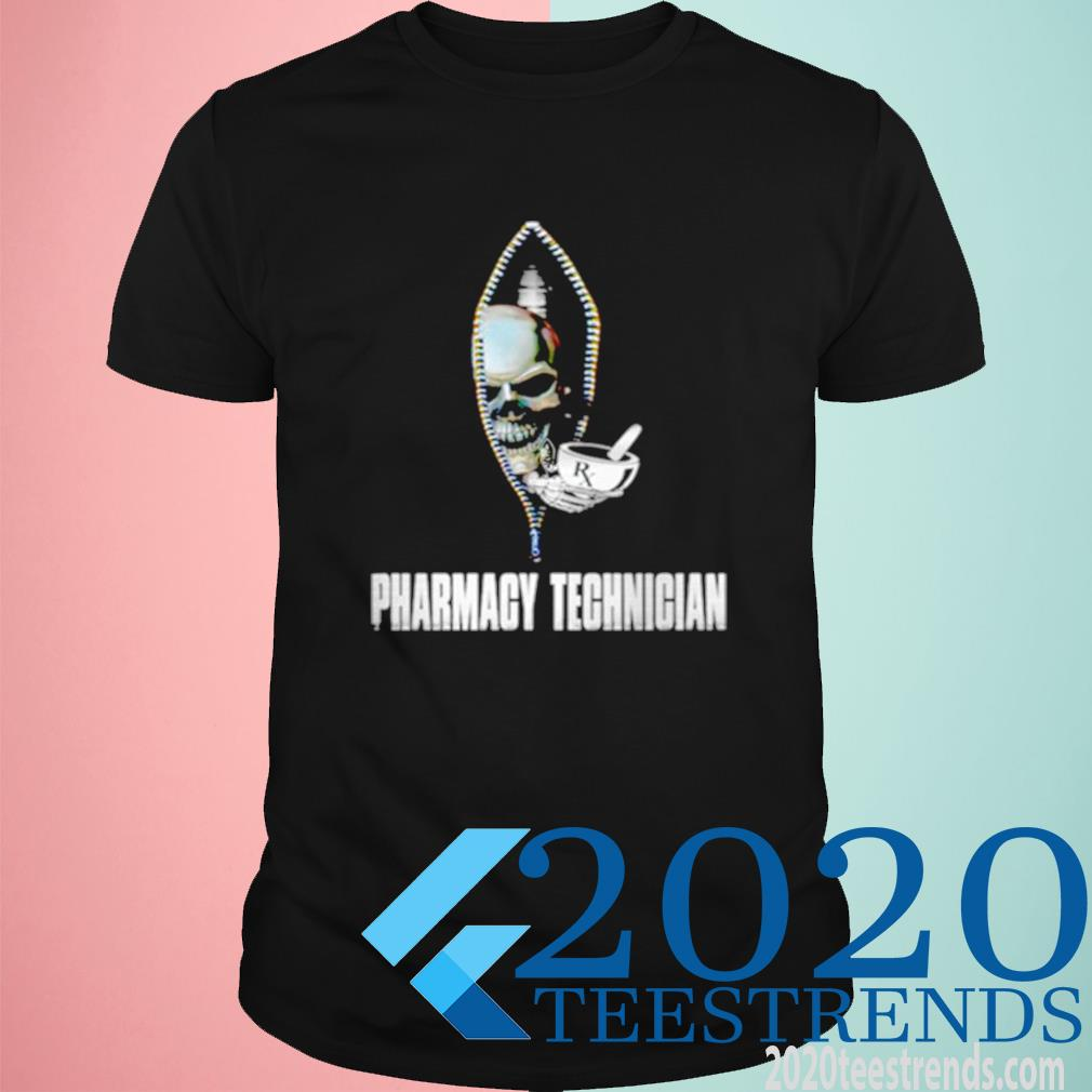Skull Pharmacy Technician Shirt