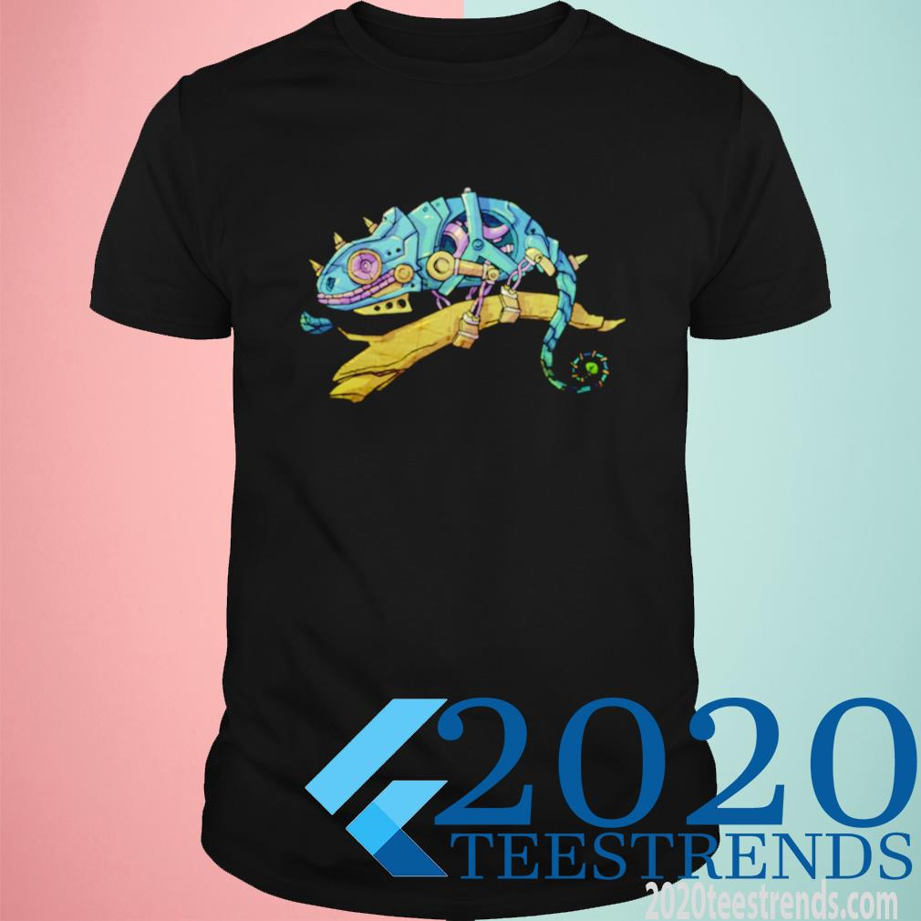 Steampunk Iguana Animal Shirt