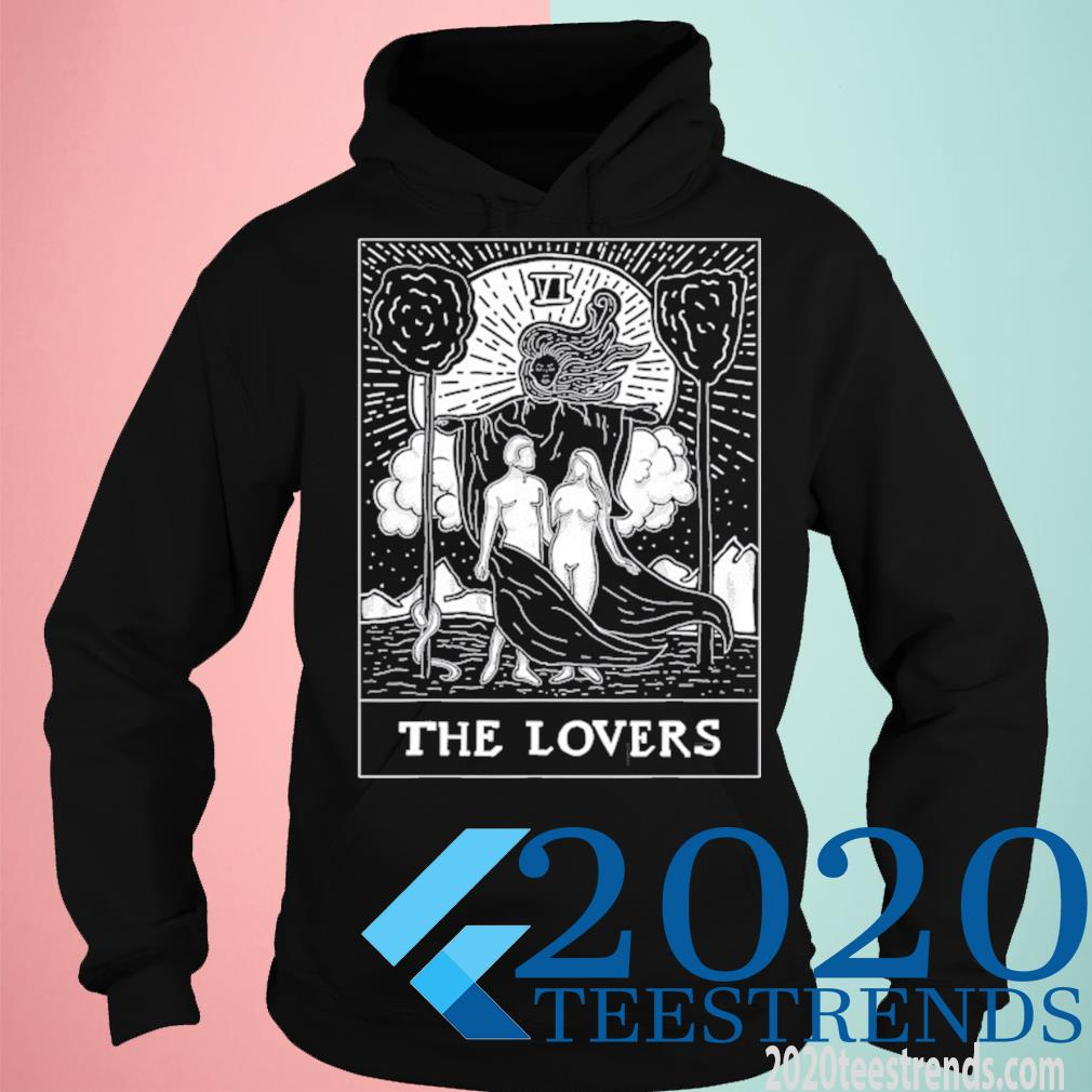 Tarot Card The Lovers Vi Occult Vintage Shirt hoodie