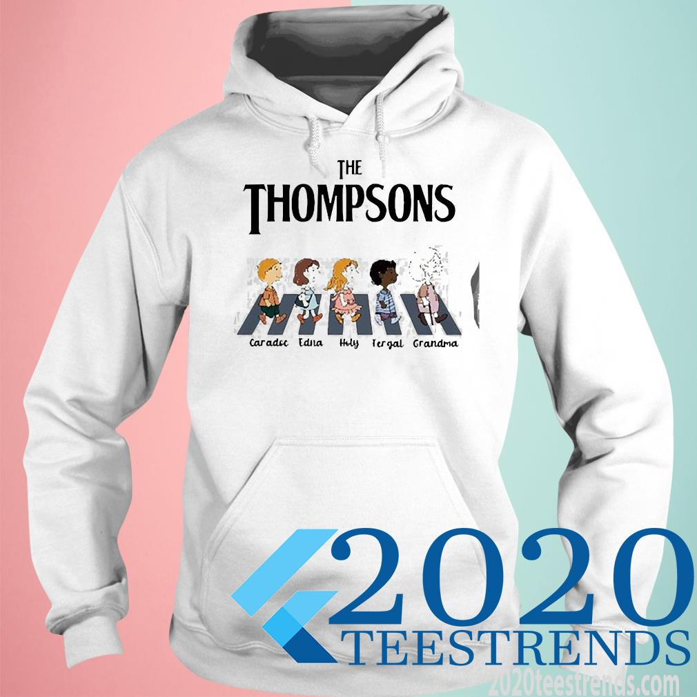 The Thompsons Caradoc Edna Holy Fergal Grandma Abbey Road Shirt hoodie
