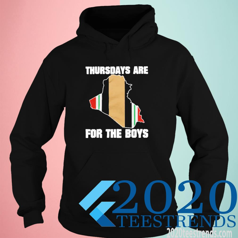 Thursdays Are For The Boys Funny Shirt hoodie