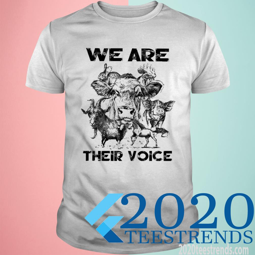 We Are Their Voice Shirt
