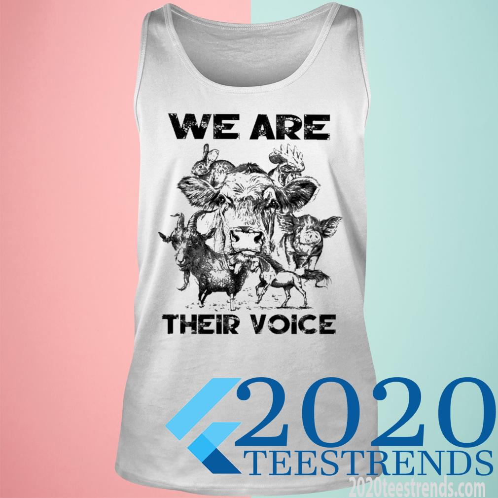 We Are Their Voice Shirt tank top