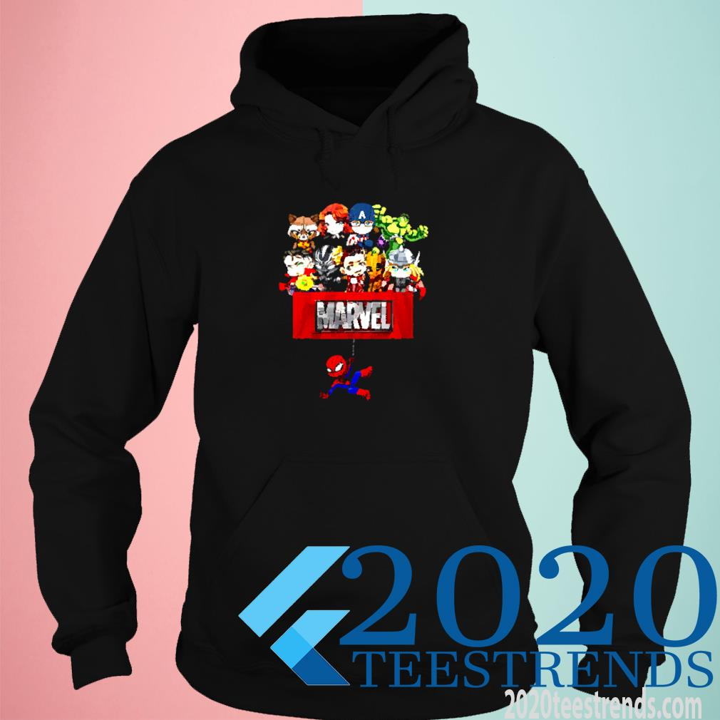 Marvel Spider Man Characters Shirt hoodie