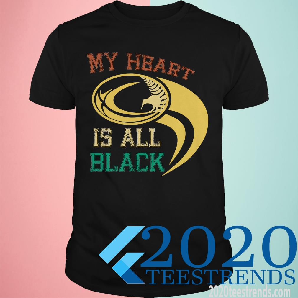 My Heart Is All Black Shirt