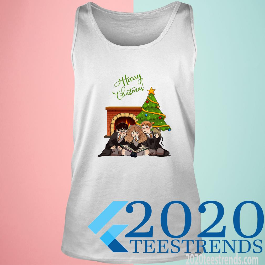 Harry Potter Characters Harry Christmas Tanktop
