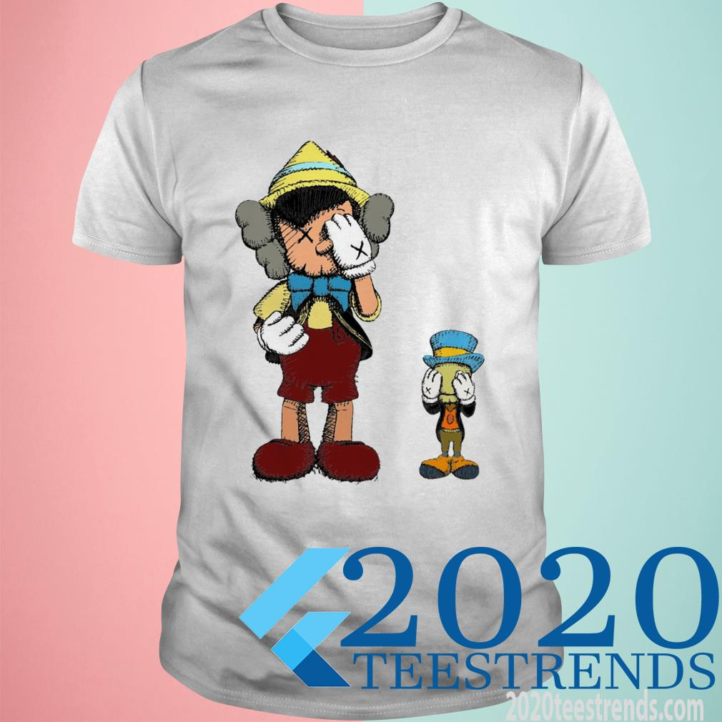 Pinocchio and Jiminy Cricket Shirt