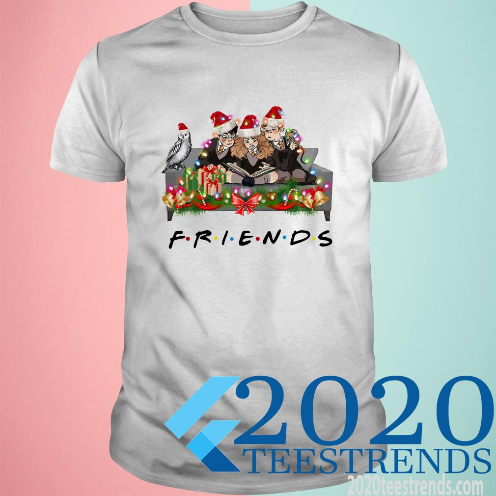 Harry Potter Friends Tv Show Christmas T-Shirt