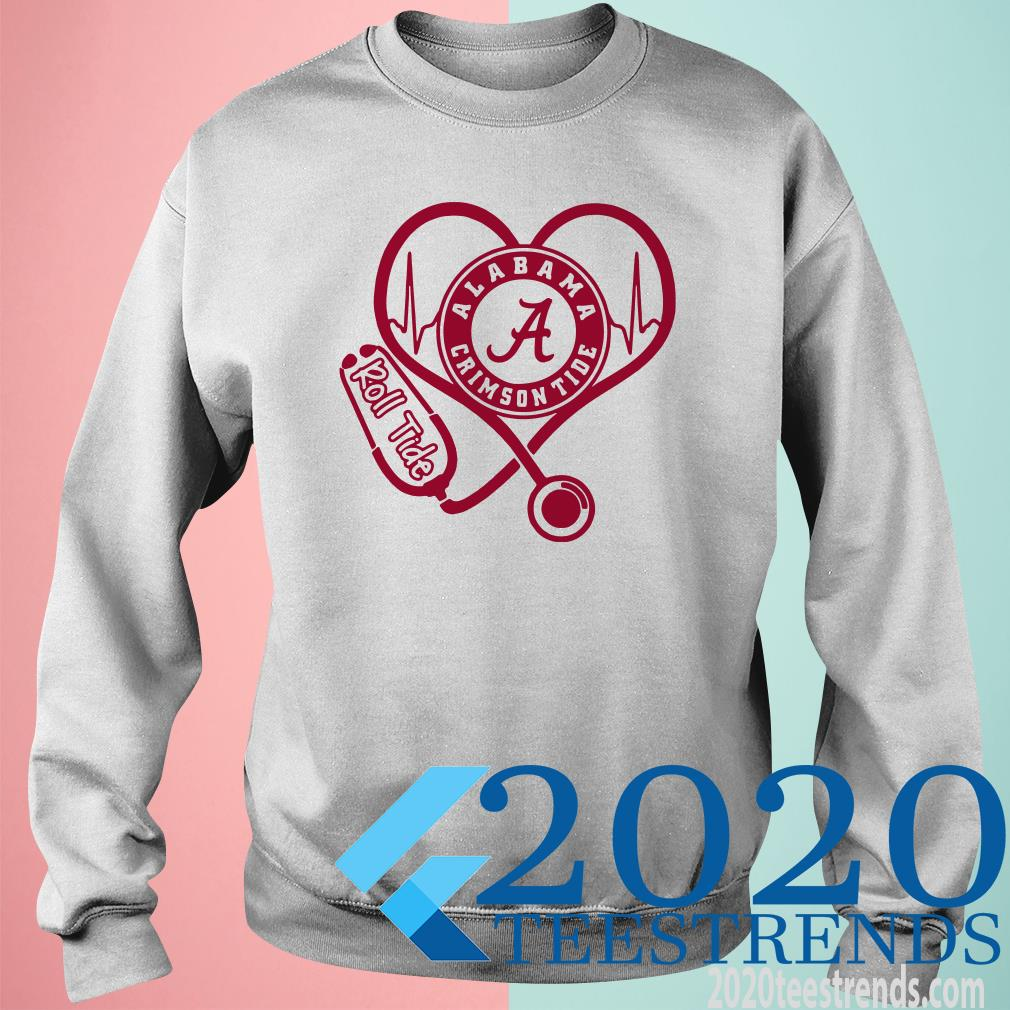 Alabama Crimson Tide Roll Tide Nurse SweatShirt