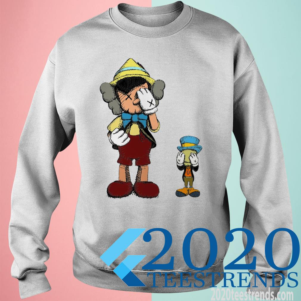 Pinocchio and Jiminy Cricket SweatShirt