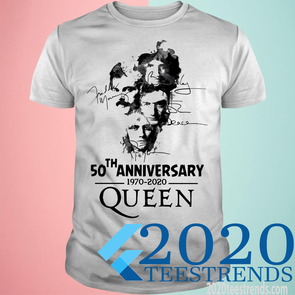 50 Th Anniversary 1970 2020 Queen Shirt