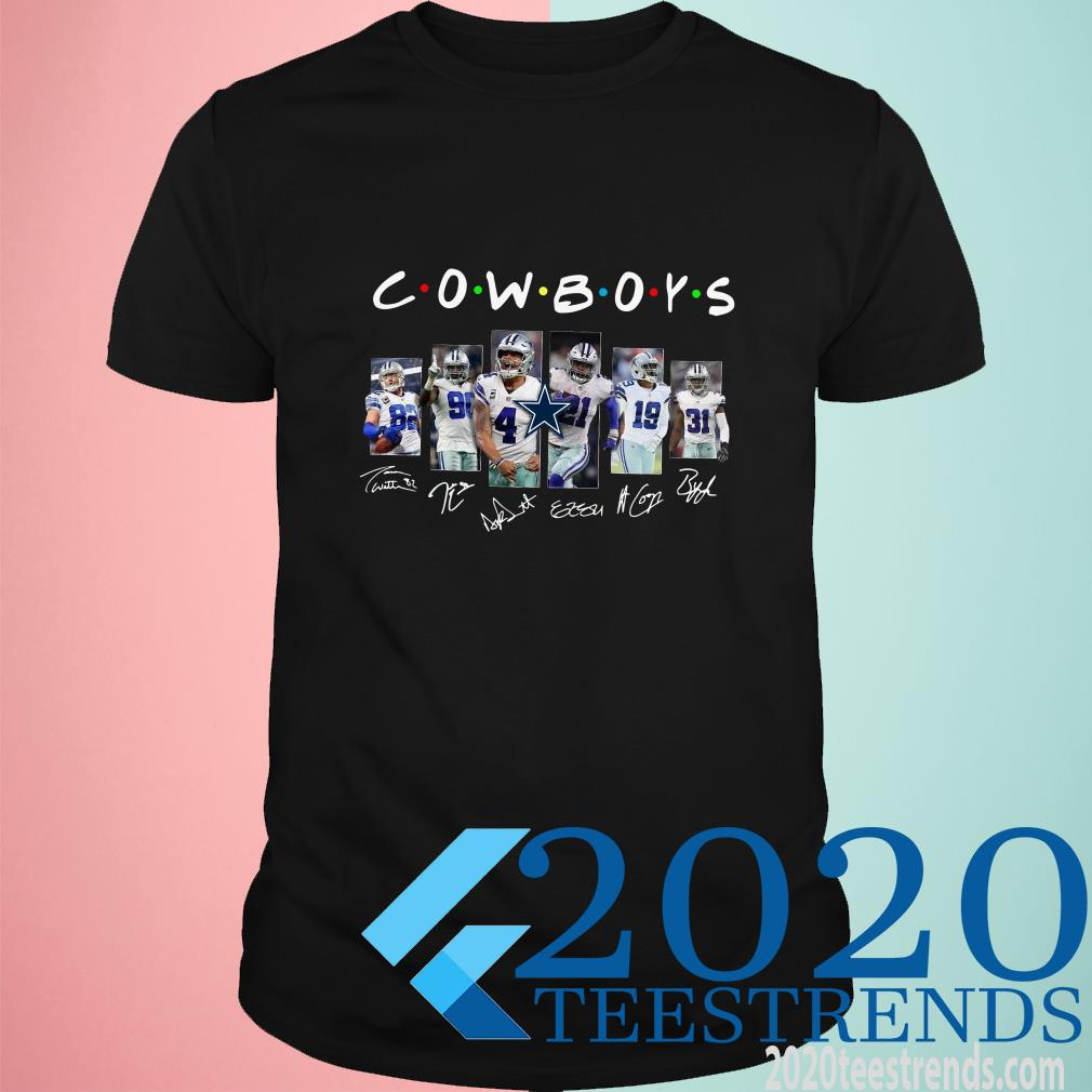 Dallas Cowboy Friends Signature Shirt