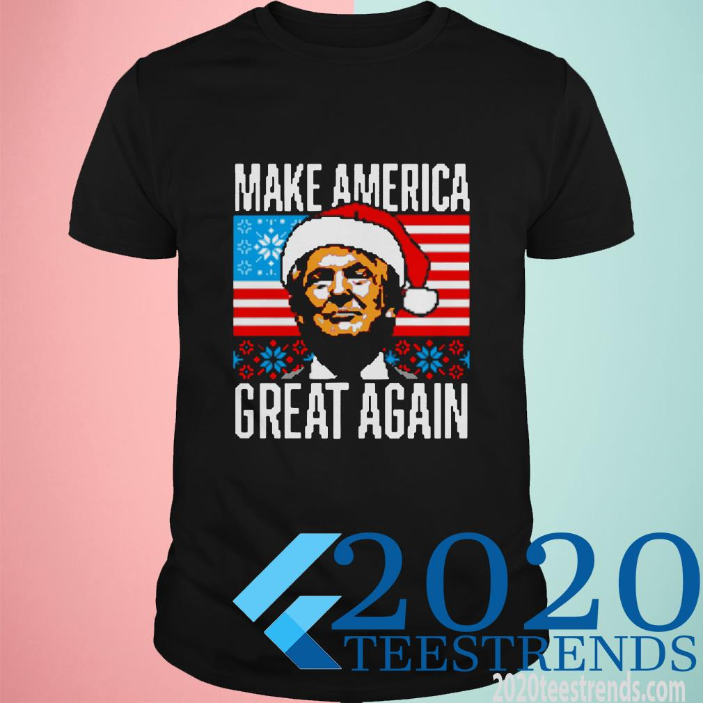 Trump Make America Great Again Christmas Shirt