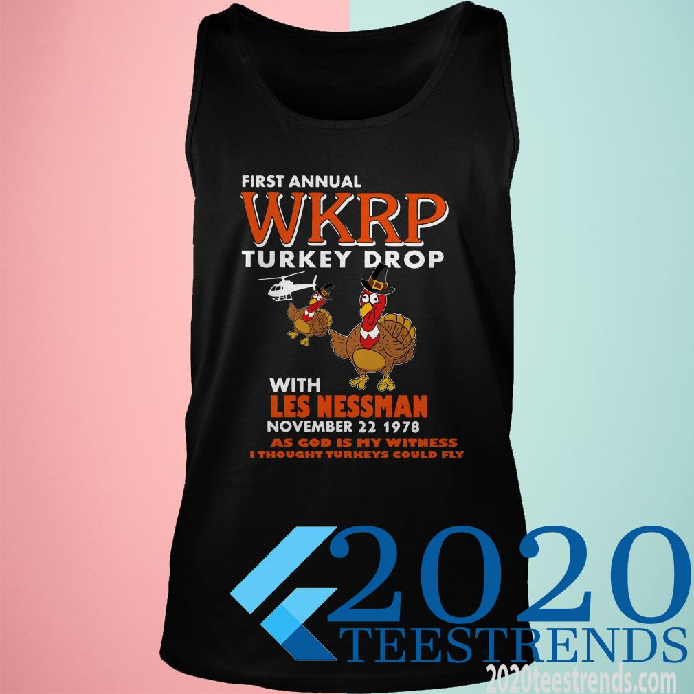 First Annual WKRP Turkey Drop Shirt