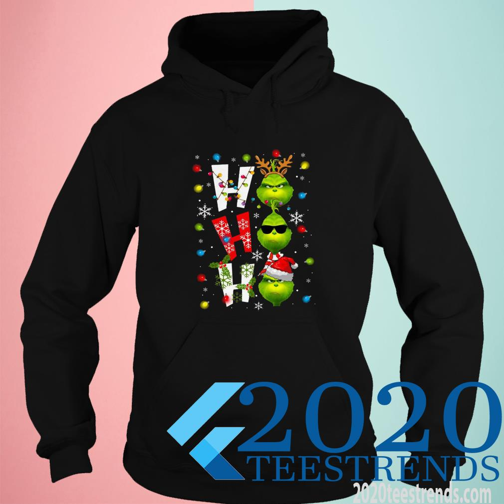 The Grinch Oh Oh Oh Christmas Ugly Hoodies