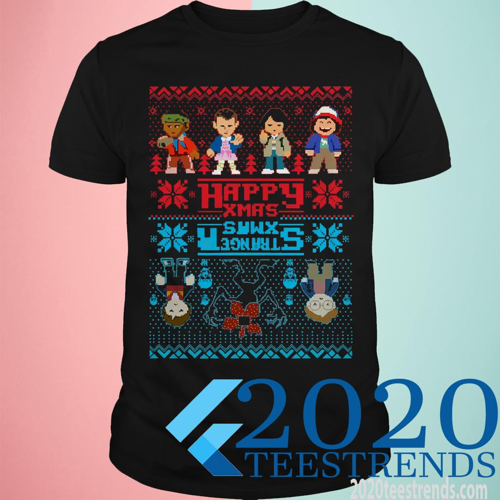 Crappy Xmas Stranger Things Ugly Christmas Sweater