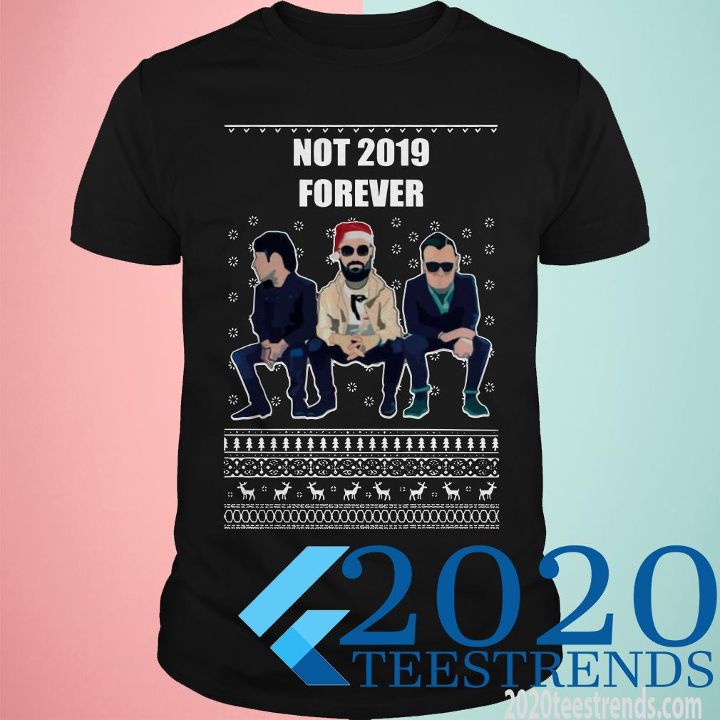 The Courteeners Not 2019 Forever Ugly Christmas Sweater