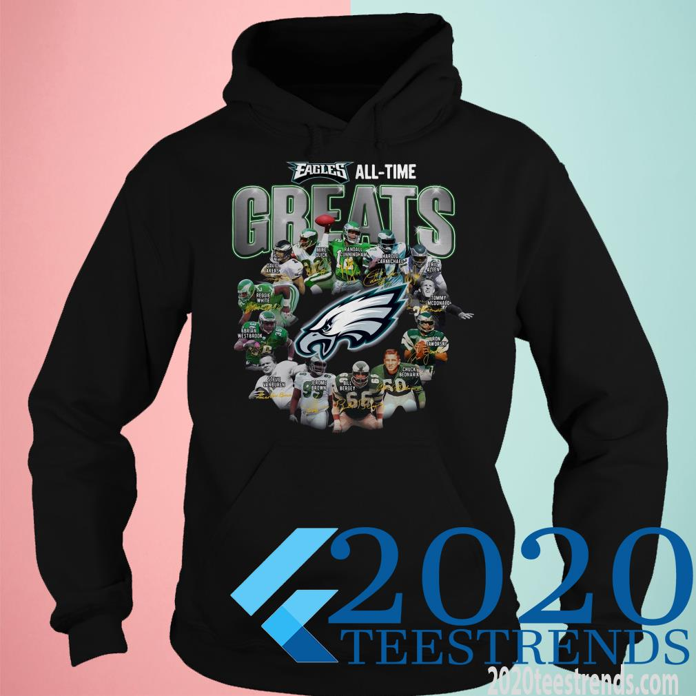 Philadelphia Eagles All Time Greats Signature Shirt
