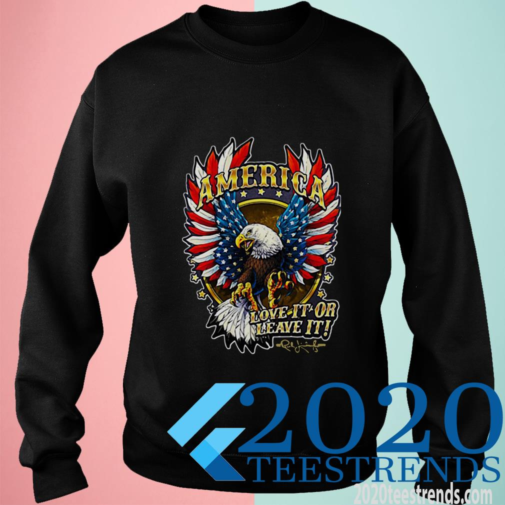 America Love It Or Leave It The Rush Limbaugh Show Sweater