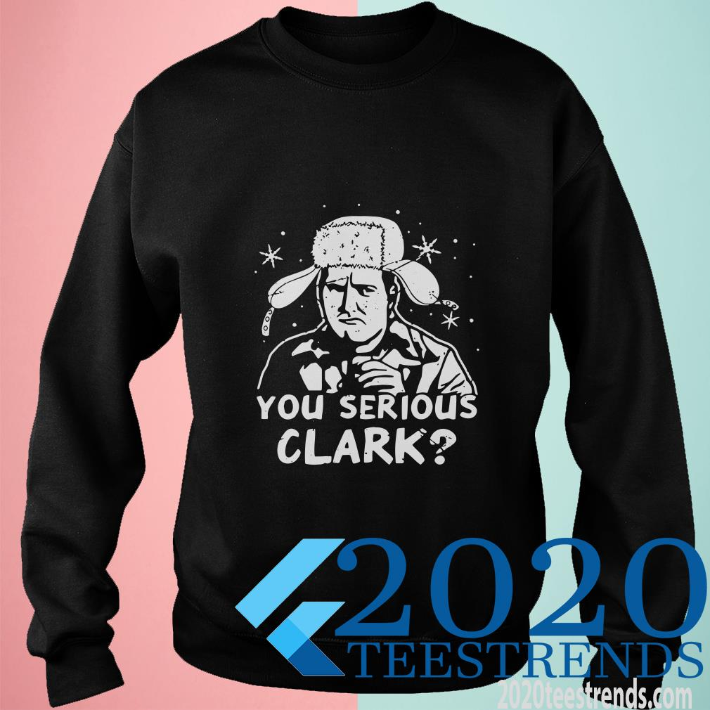 You Serious Clark Trooper Hat Sweater