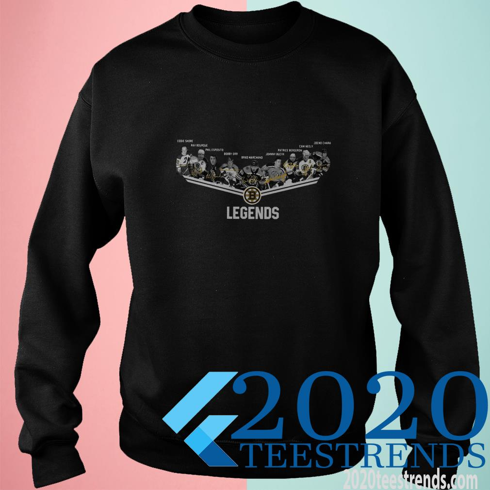 Boston Bruins Legends Players Signature SweatShirt
