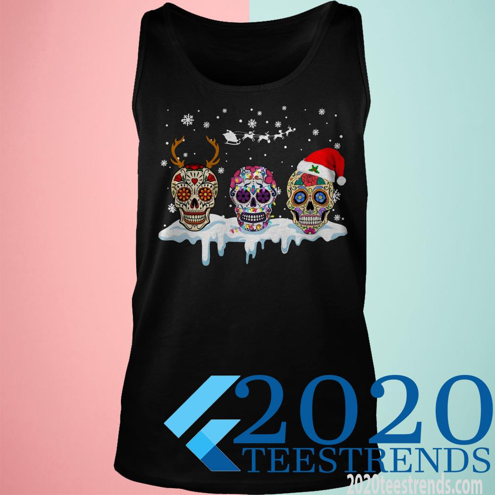 Sugar Skulls Christmas Sweatshirt