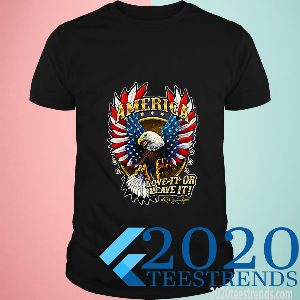 America Love It Or Leave It The Rush Limbaugh Show T-Shirt