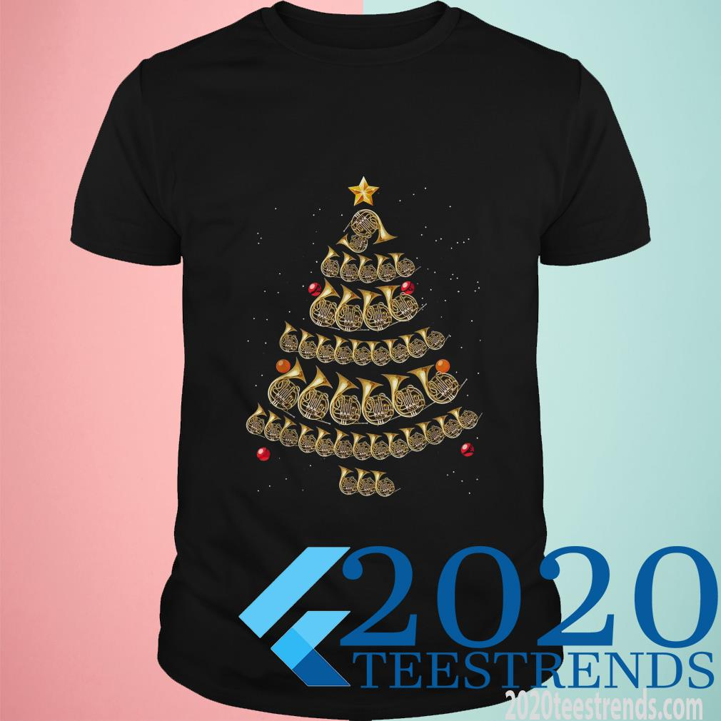 Trumpet Christmas Tree T-Shirt