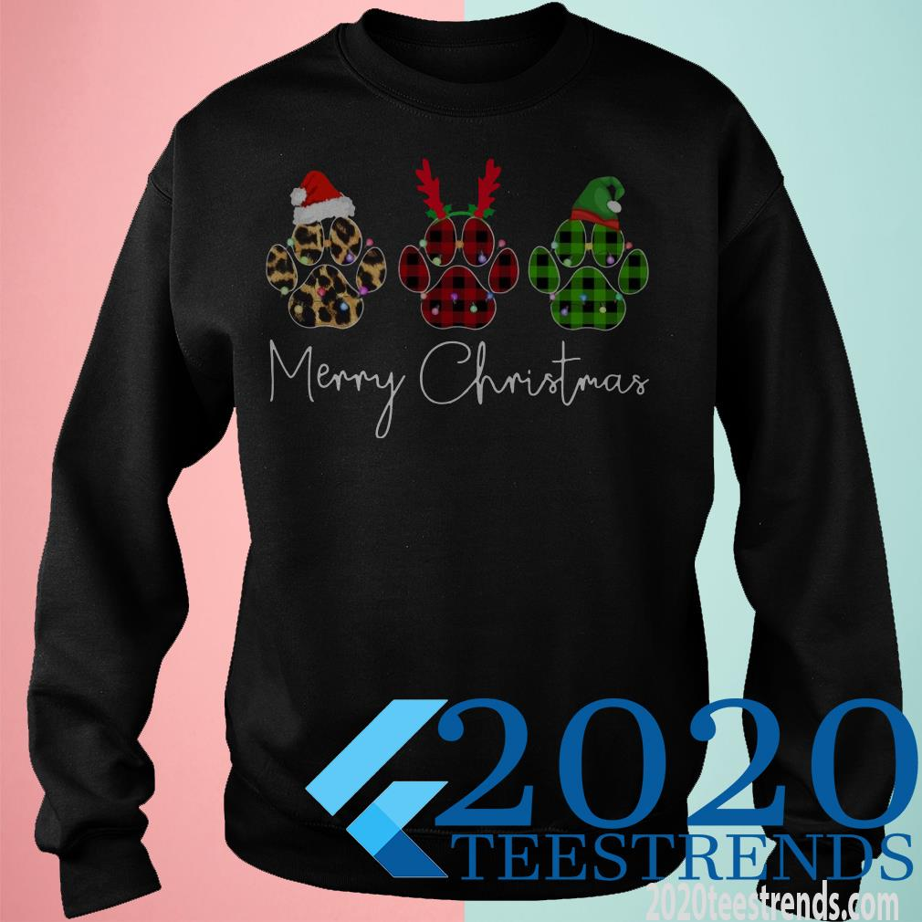 Merry Christmas Paw Sweater