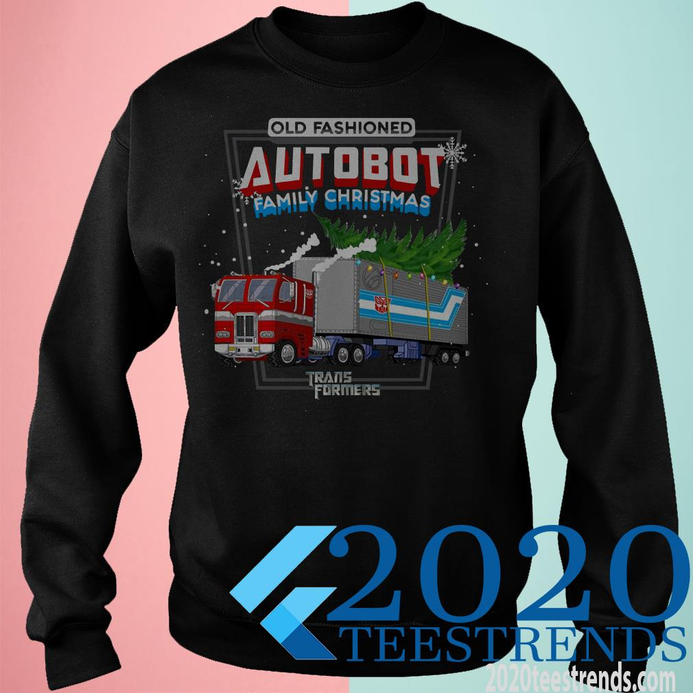 Old Fashioned Autobot Family Christmas Transformers Sweater