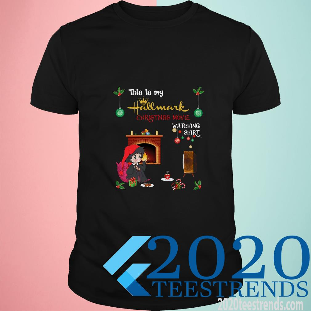 Harry Potter This Is My Hallmark Christmas Movie Watching Ugly Shirt