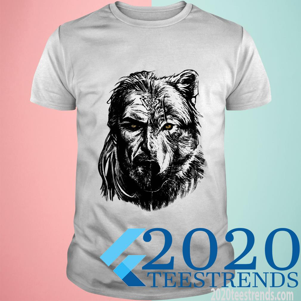Wolf Viking Warrior T-Shirt