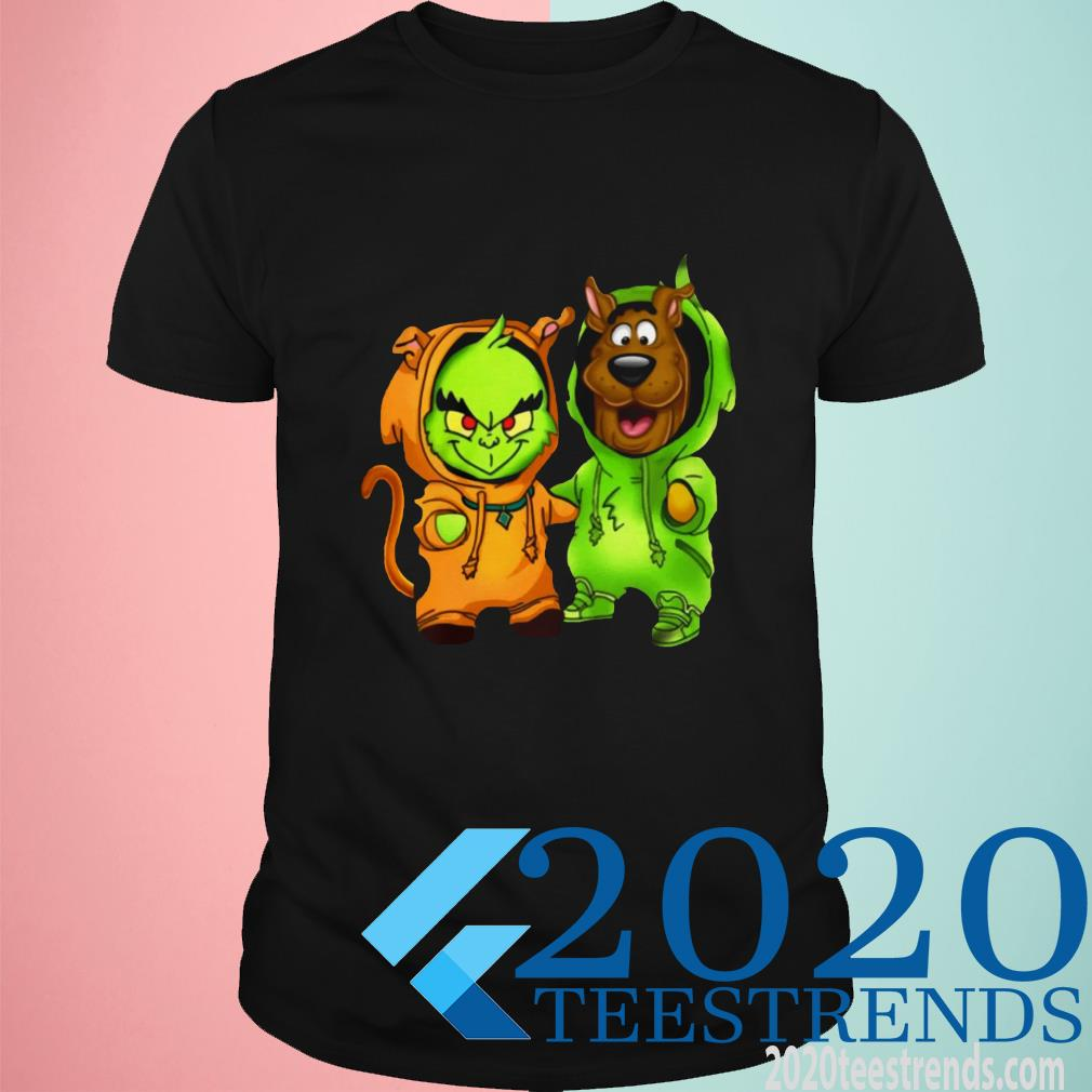 Grinch And Scooby Doo Switch Outfit Shirt