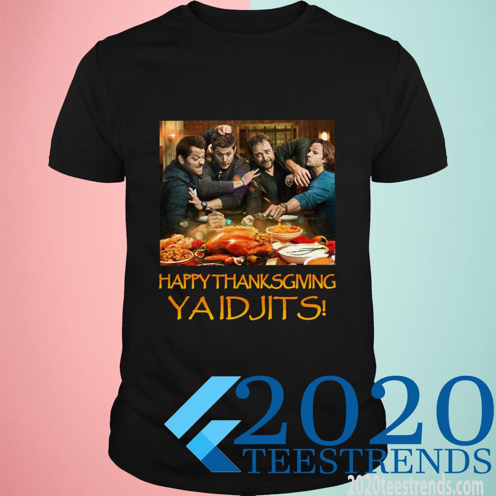 Supernatural Happy Thanksgiving Ya Idjits Shirt