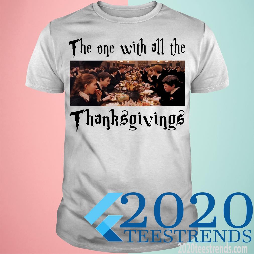 Harry Potter The One With All The Thanksgivings T-Shirt