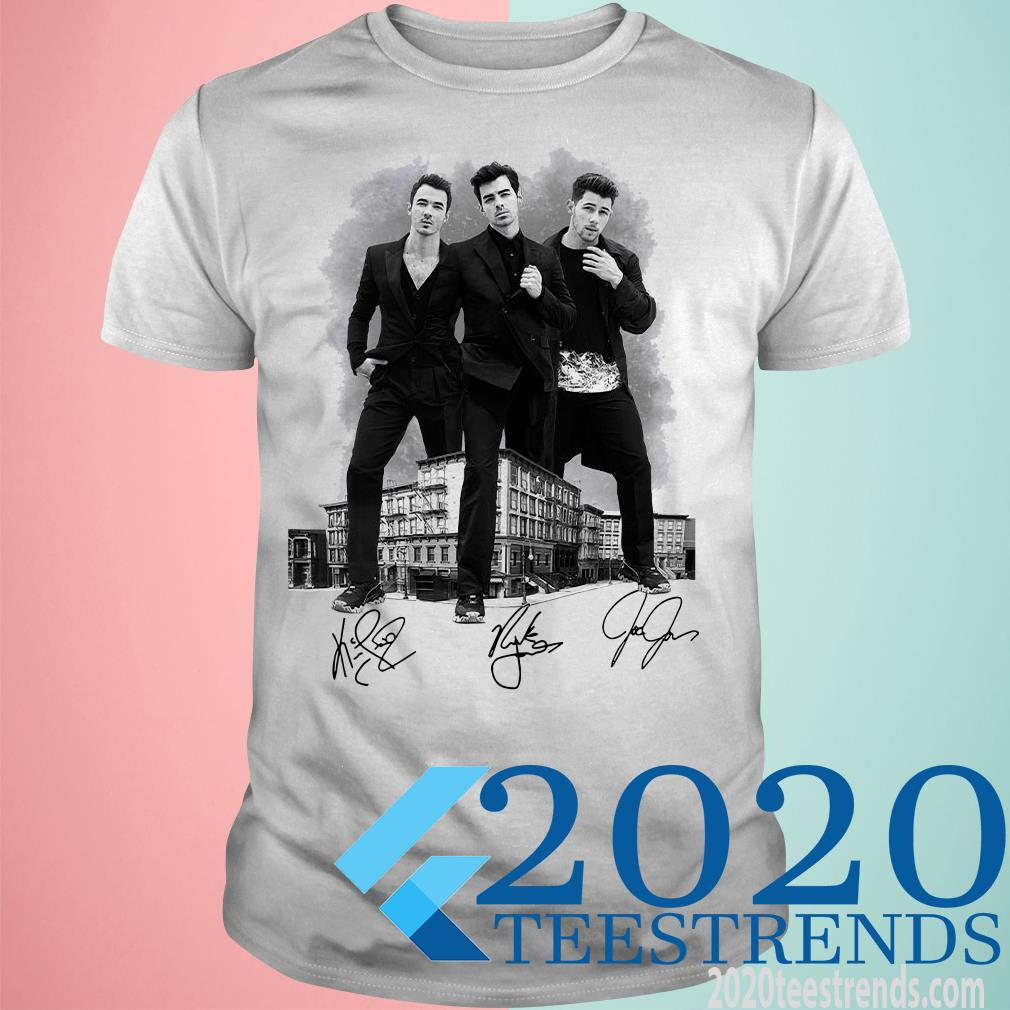 Jonas Brothers Signature T-Shirt