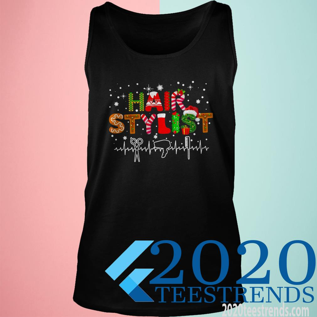 Hair Stylist Merry Christmas Tank top