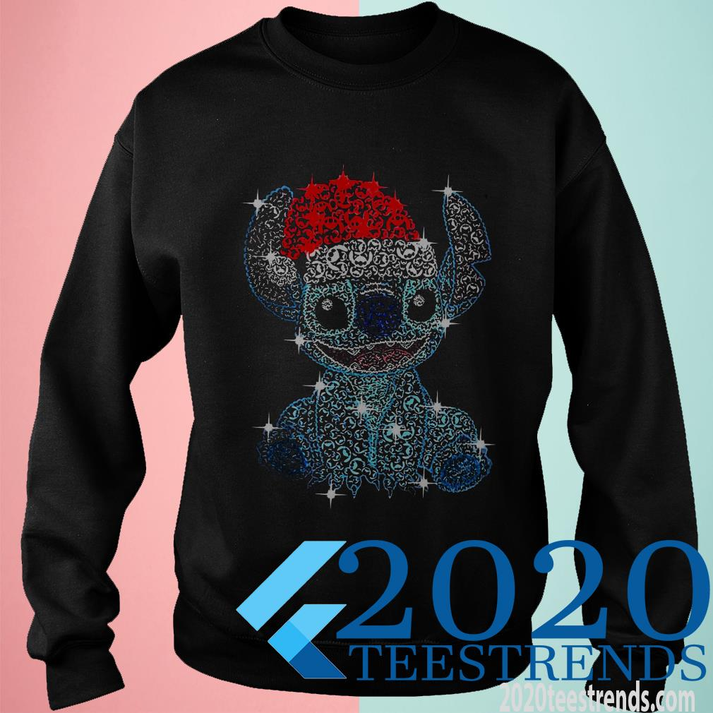 Stitch Diamond Merry Christmas Sweatshirt