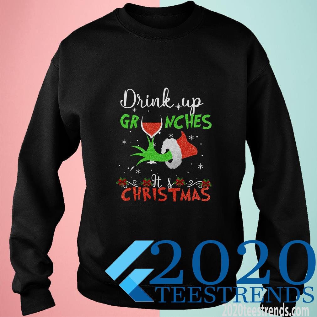 Drink Up Grinches Wine Its Christmas Sweater