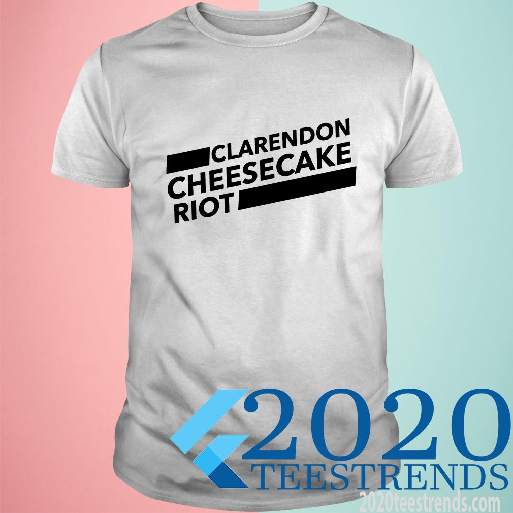 Clarendon Cheesecake Riot White T-Shirt